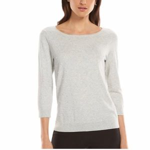 3/$25 Elle Pearl Embellished Sweater Size Large